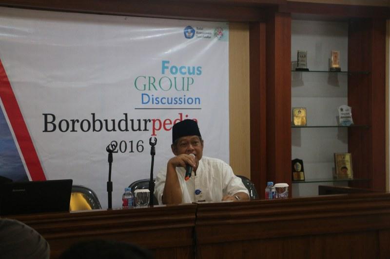 Focus Group Discussion Borobudurpedia