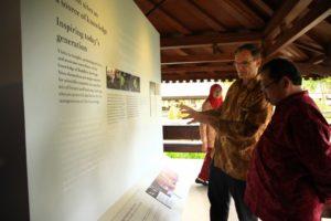 Pameran Simpang Budaya : Bamiyan dan Borobudur di Museum Borobudur