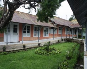 Bangunan untuk rawat inap di Rumah Sakit PTPN VIII Pasir Junghuhn