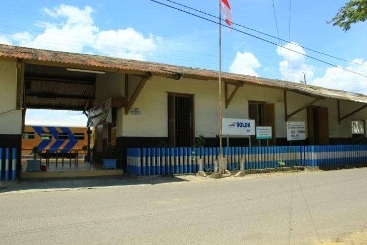stasiun kereta api solok (Dok. BPCB Batusangkar)