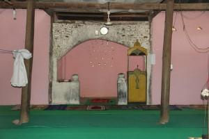 bagian mihrab masjid tua riung