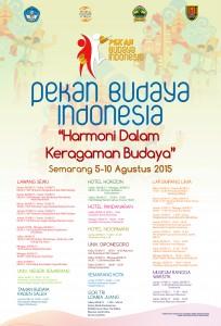 Poster Pekan Budaya Indonesia