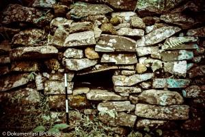 Sisa Benteng Pertahanan Pongkor Ruteng