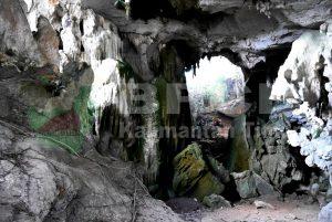 Dok bpcb. Salah satu ruang di situs gua Saleh