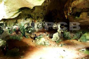Dok bpcb. Suasana ruang dalam gua Saleh