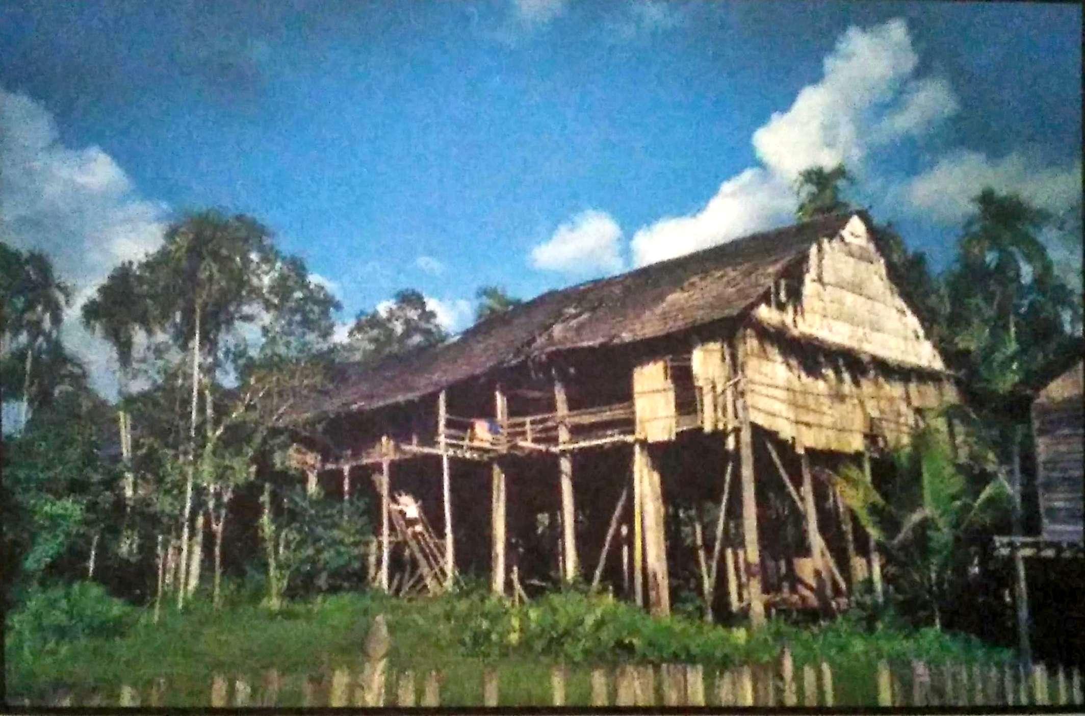 Rumah Adat Betang Panjang Atau Rumah Betang Sungai Uluk Palin Balai Pelestarian Cagar Budaya Kalimantan Timur