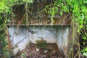 Bunker yang ada esa Sungai Bakar, Kecamatan Bajuin, Kabupaten Tanah Laut, Kalimantan Selatan