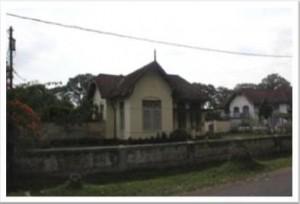 Kawasan pemukiman di Jalan Kartini