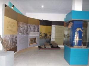 salah satu sudut di Museum Situs Banten Lama
