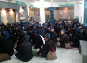 kunjungan sedulur Baduy di Museum Situs Banten Lama