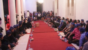 Pertemuan Masyarakat Baduy dengan Gubernur Banten