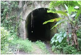 Mulut terowongan Binangun