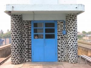 Pintu masuk bendungan