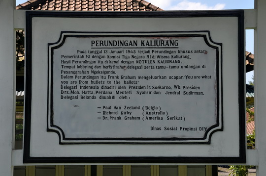 Perundingan Kaliurang (Foto dok. BPCB D.I. Yogyakarta)