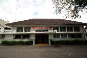 Bangunan PT Taruna Martani tampak depan (Foto dok. BPCB DIY)