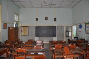 Ruang kelas SD Negeri Percobaan 4 Wates (Foto dok. BPCB D.I. Yogyakarta)
