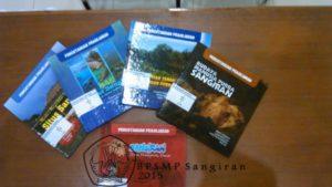 Buku populer mengenai Situs Sangiran terbitan BPSMP Sangiran