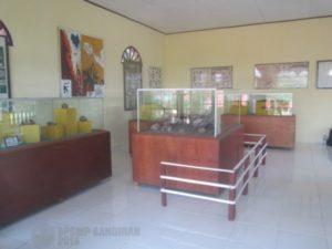 Kondisi ruang pamer Museum Calio (Doc. Mujib BPSMP Sangiran)