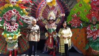 Penari Asal Kota Malang Pukau Pengungjung Festival Indonesia