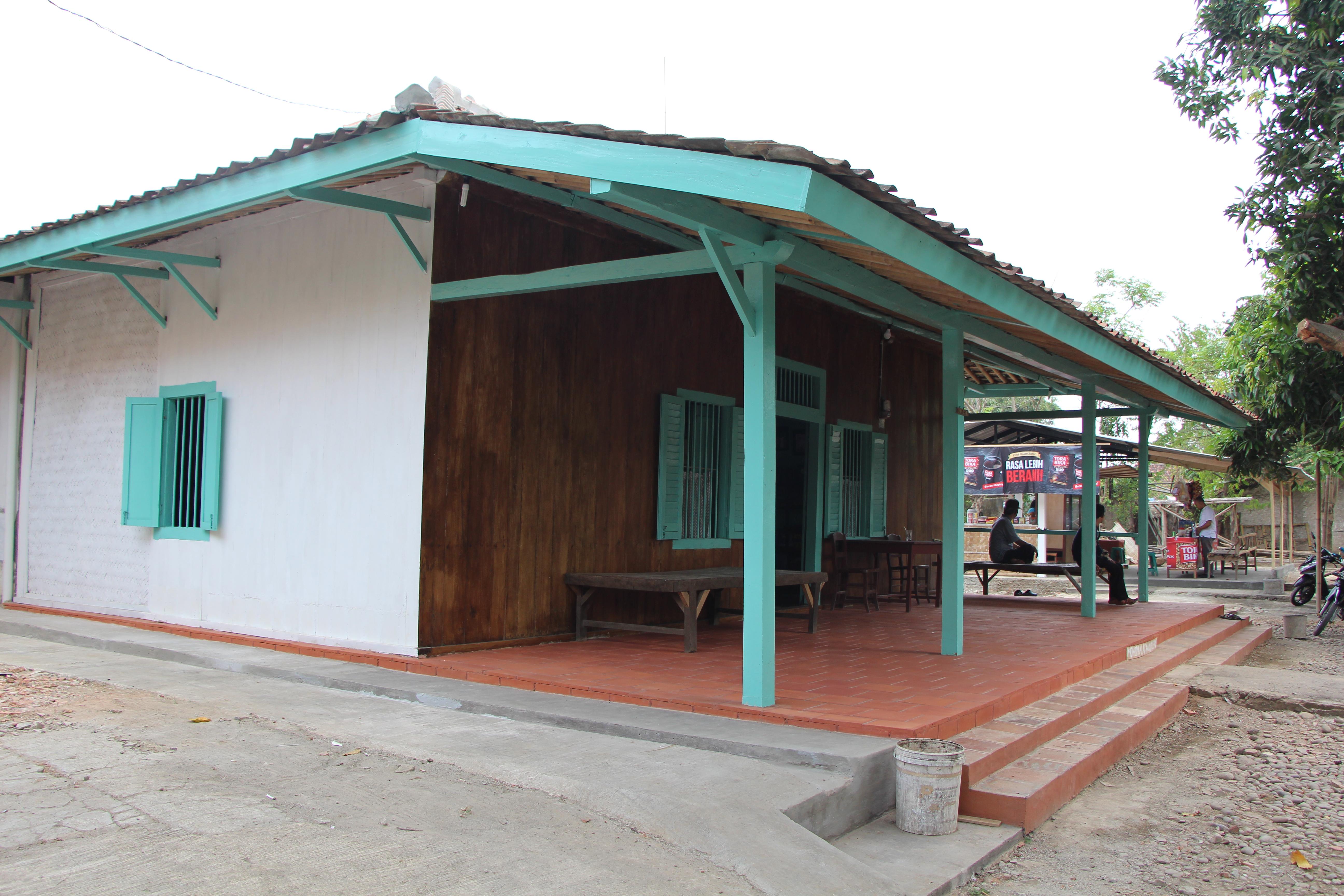 rumah bersejarah rengasdengklok telah selesai