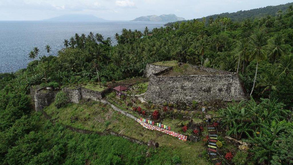 Benteng Tahula di Tidore.