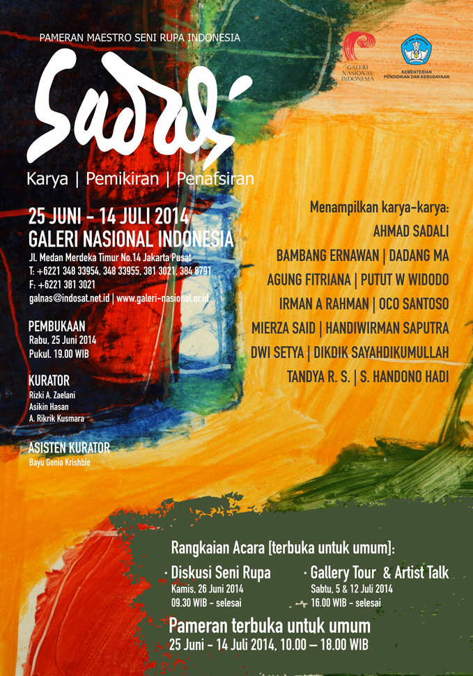 Pameran Seni Rupa Indonesia Sadali Karya Pemikiran