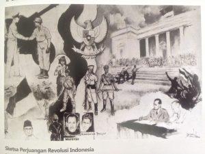 Sketsa Revolusi Perjuangan Indonesia