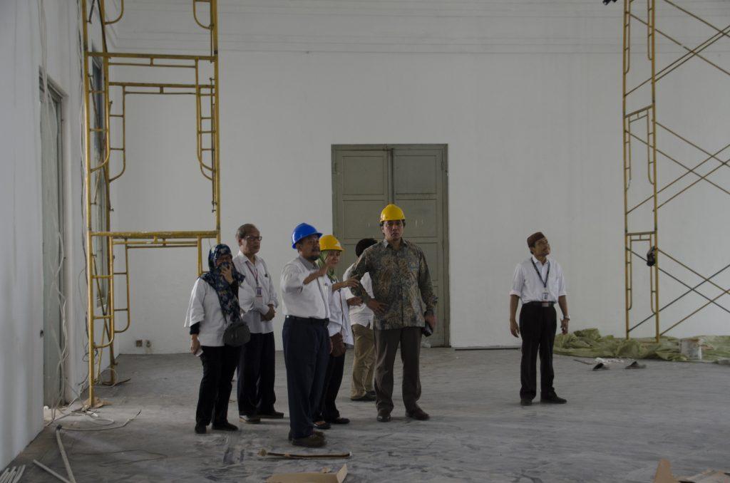 Dokumentasi revitalisasi gedung A