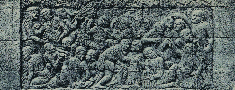 87 Gambar Relief Candi Borobudur Beserta Penjelasannya Paling Keren