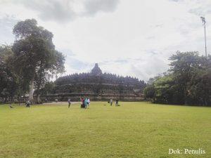 Studio Sejarah Restorasi Perwujudan Kecil Candi Borobudur (1)