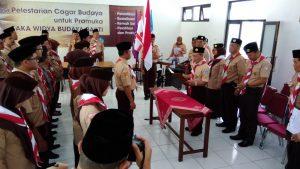 Pelantikan MABI dan PINSAKA Saka Widya Budaya Bakti Kabupaten Magelang