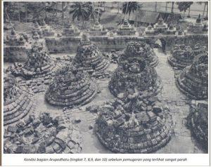 Read more about the article Kondisi Candi Borobudur sebelum Pemugaran Van Erp