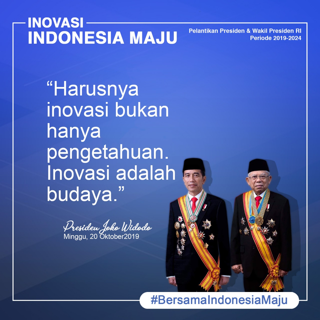 You are currently viewing Bersama Indonesia Maju 7