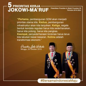 Read more about the article Bersama Indonesia Maju 2