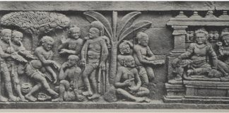 Relief cerita Karmawibhangga Candi Borobudur, no.39 (Sumber: Rep: van Erp)