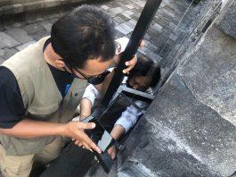 monitoring stabilitas Candi Borobudur