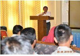 """Read more about the article BPCB Aceh melaksanakan Kegiatan Pembinaan Kinerja Juru Pelihara (""""Kepala BPCB Aceh: """"Jupel wajib bekerja secara profesional"""")"""