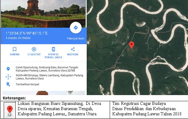 You are currently viewing Profil Situs Biaro/Candi Sipamutung, Kabupaten Padang Lawas, Sumatera Utara