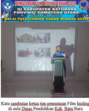 Read more about the article Pengunjung Bioskop Keliling BPCB Aceh 2019, dari kalangan siswa-siswi SLTA Kab. Batu Bara, Sumatera Utara