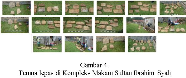 Read more about the article Kegiatan Konservasi di Kompleks Makam Sultan Ibrahim Syah di Barus Kab. Tapteng Prov. Sumut. BPCB Aceh menangani 16 makam kuno dan 33 objek lepas lainnya (II)