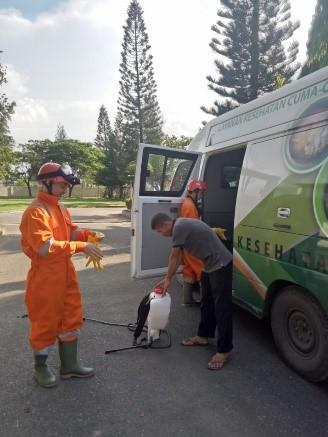 Read more about the article Mengantisifasi penyebaran Virus Corona di lingkungan Kantor Balai Pelestarian Cagar Budaya Aceh