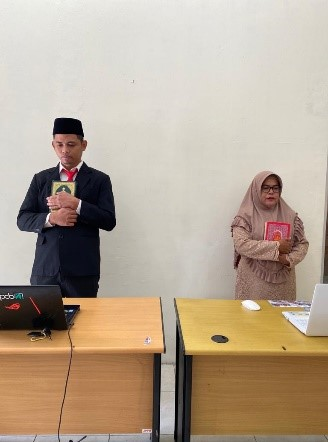 Read more about the article Pelantikan Staf BPCB Aceh Sebagai Pejabat Pamong Budaya Ahli Pertama