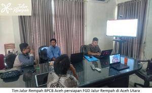 Read more about the article Selesai persiapan FGD Jalur Rempah Kota Banda Aceh, Tim BPCB Aceh mempersiapkan Focus Group Discussion Aceh Utara