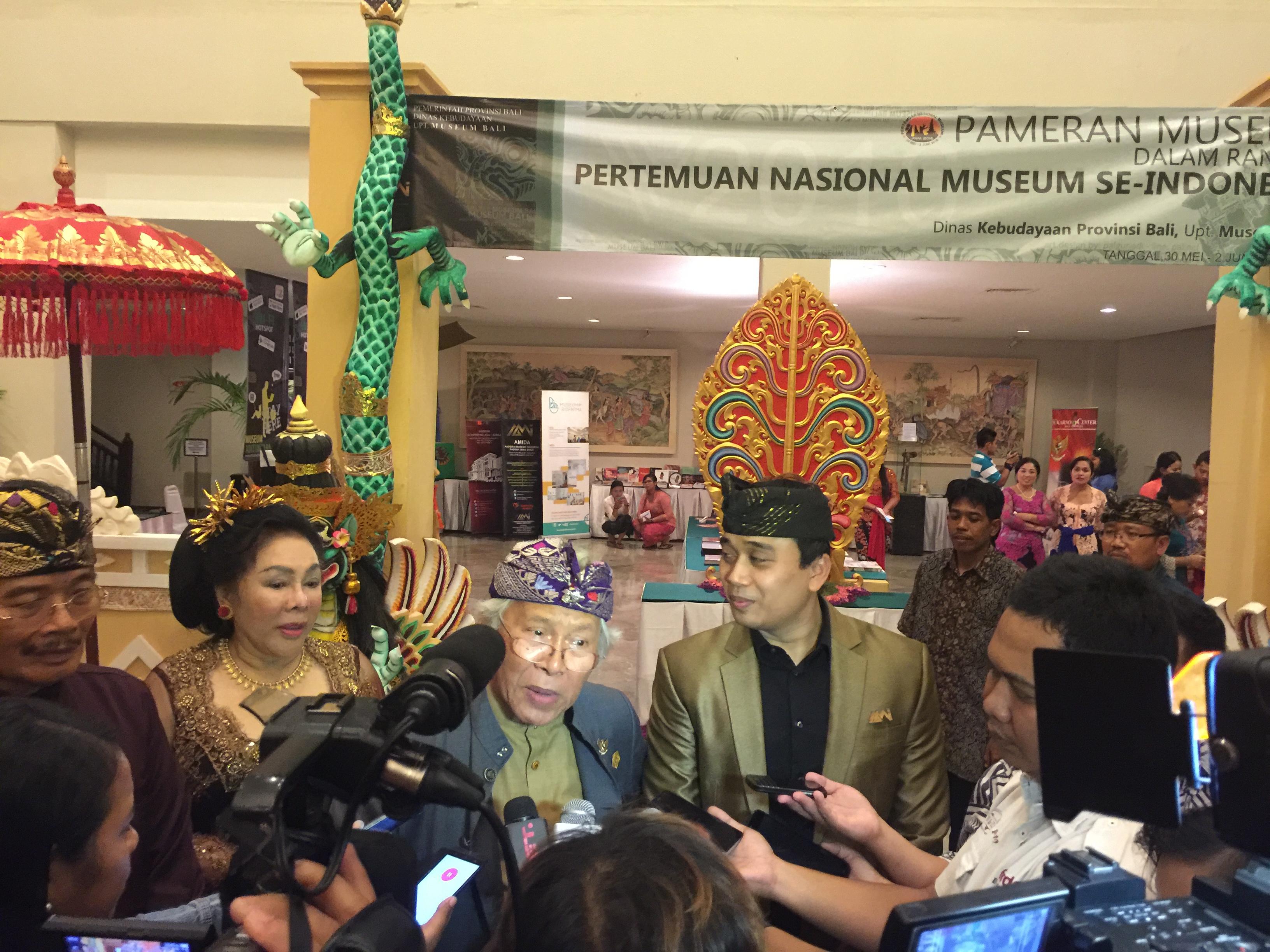 Read more about the article Pemukulan Kulkul Sebagai Tanda Dimulainya Pertemuan MuseumSe-Indonesia