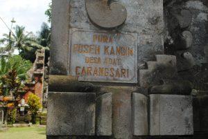 Read more about the article Temuan Menarik di Pura Puseh Kangin Carangsari, Badung