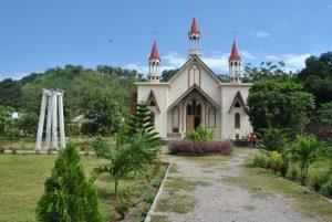 Situs Gereja Tua St. Maria Imakulata Lela