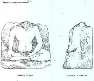 Arca Buddha di Pura Pegulingan