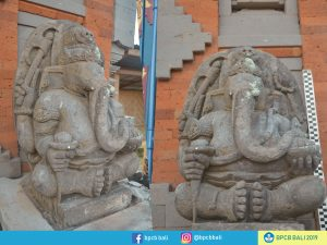Arca Ganesha di Pura Desa Tonja