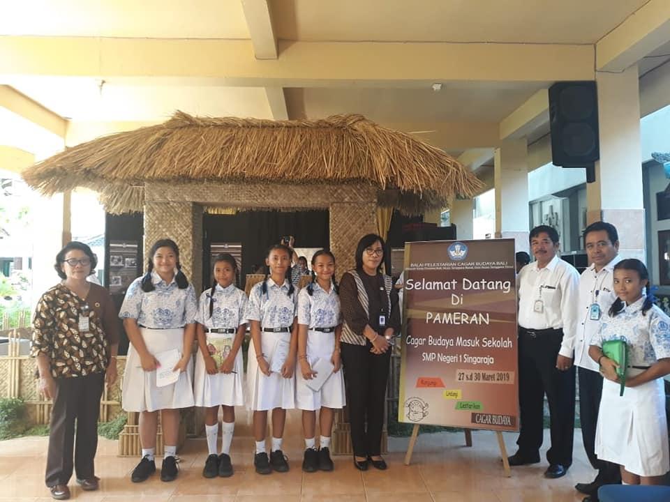 Read more about the article Pembukaan Pameran Cagar Budaya Masuk Sekolah di SMP Negeri 1 Singaraja