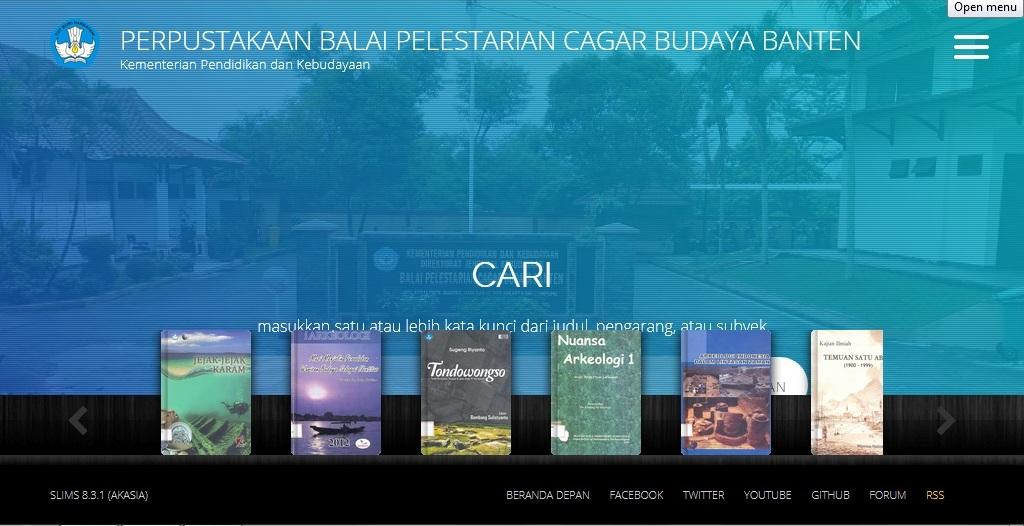 Read more about the article Kabar Gembira! Cek Ketersediaan Buku di Perpustakaan BPCB Banten Lewat Katalog Online